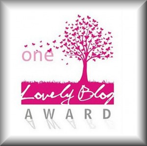 Premio One Lovely Word Award.